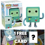 BMO: Funko POP! x Adventure Time Vinyl Figure + 1 FREE Official Adventure Time Trading Card Bundle [