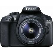 Digitalni foto-aparat Canon EOS 1300D,Set (Sa 18-55 DC III +EF 50mm f/1,8),Crna