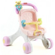 Fisher-Price Brilliant Basics Stroll Along Walker