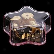 ELECTROPRIME Creative Star-Shaped Music Box Movement Home Decor Xmas,You are My Sunshine