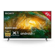 "Sony Pantalla XBR-49X800H 4K Ultra HD 49"" Android TV Serie X800H"