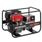 ECT 7000 K1 GV Generator curent electric Honda , putere 7 kVA trifazat