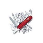 Canivete Victorinox Swisschamp 33 funções vermelho translucido 9.1 cm 1.6795.T
