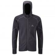 Mountain Equipment Couloir Hooded Jacket - Polartec Powerstretch (Black / Blue)