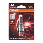 Osram Night Breaker Silver H4 12V 60/55W +100% autó izzó