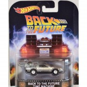 Hot wheels Retro - Back To The Future Time Machine 2016
