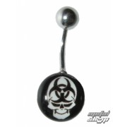 piercingový šperk Lebka - 1PCS - L 070 - MABR