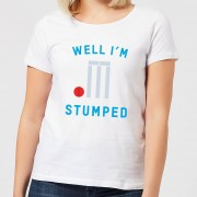 The Dad Collection Well Im Stumped Women's T-Shirt - White - M - White