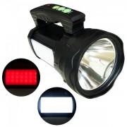 Lanterna Profesionala LED 50W cu Panouri LED, USB si Acumulator 4V TD6677
