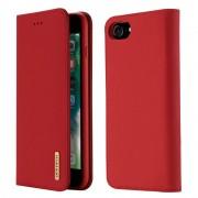 Mobiltillbehör Dux Ducis Wish Läder Plånboksfodral iPhone 7/8/SE 2020 Röd