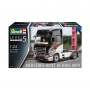 REVELL Mercedes-Benz Actros MP4 kamion makett 7439