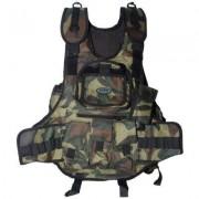 New Legion Paintball Battle Vest (Färg: Woodland)