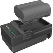 Digipower - EN-EL15 digital camera battery & charger kit, replacement for Nikon EN-EL15 battery pack - Black