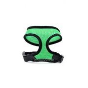 ELECTROPRIME® (Green)Adjustable Soft Air Mesh Pet Dog Puppy Doggie Step in Vest Mesh Walking Harness 5 Colors HOT SALE M