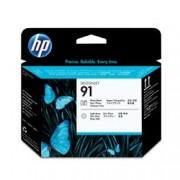 ORIGINAL HP Testina per stampa nero (foto) + grigio chiaro C9463A 91