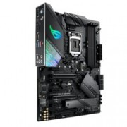 Дънна платка Asus ROG STRIX Z390-F GAMING, Z390, LGA1151, DDR4, PCI-Е (DP&HDMI)(CFX&SLI), 6x SATA 6Gb/s, 2x M.2 Socket, 6x USB 3.1, ATX, AURA Sync RGB подсветка