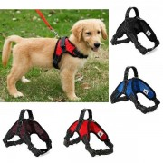 Pet Dog Adjustable Harness Mesh Collar No-Pull Harness Vest