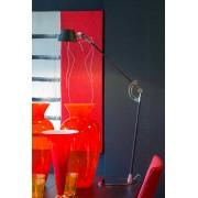 Linea Verdace Bureaulamp Carbon - H60 Cm - Carbron/Chroom