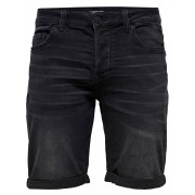 Only and Sons Onsply Sw Black Shorts Pk 2021 Noos