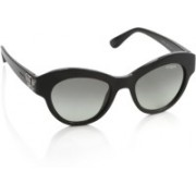 Vogue Oval Sunglasses(Grey)