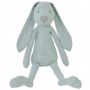 Happy Horses Grand Doudou Lapin Richie Bleu Lagon en Lin 41 cm Happy Horse -