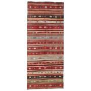 Noué à la main. Origine: Turkey Tapis Kilim semi-antique Turquie 129x309 Tapis D'orient, Couloir