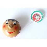 "Yoyo 2"" Pinocchio Wooden Original Pinocchio Yoyos Made In Italy"