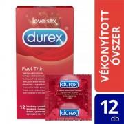 Durex Feel Thin - élethű érzés óvszer (12db)