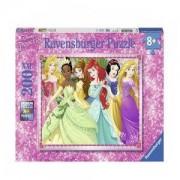 Пъзел Ravensburger 200 ел. - Дисни принцеси, 7012745