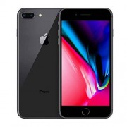 Apple iPhone 8 Plus, 256GB, Space Gray Fully Unlocked (Renewed)
