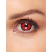 Vegaoo Röda kontaktlinser med fantasymotiv One-size