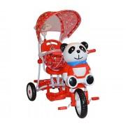 Dječji tricikl Panda - crvena