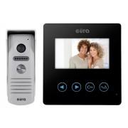 """Video Sprechanlage """"EURA"""" VDP-16A3""""SYRIUSZ"""", schwarz, 4,3 Zoll LCD Farbmonitor, Steuerung von zwei Eingängen, Bilderspeicher."""