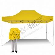 ray bot Gazebo pieghevole 3x4,5 giallo professionale senza laterali PVC 350g