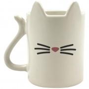 Merkloos Koffiemok met kattenontwerp 350 ml