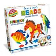 Small World Toys Creative - Heat and Stick Beads Animal Friends Kit
