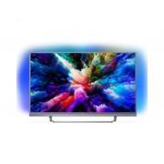 "Philips Tv philips 55"" led 4k uhd/ 55pus7503 (2018)/ hdr plus / ambilight x3/ quad core/ ultraplano/ smart tv/ 4 hdmi/ 2 usb/ dvb-t/t2/t"