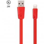 HOCO X9 8 Micro USB TPE Cable de Transferencia de (Rojo)