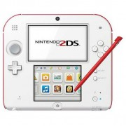 Nintendo 2ds Hw White + Red New Supermario Bros 2