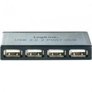 3 portos USB 2.0 HUB hálózati adapterrel (971895)