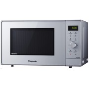 Cuptor cu microunde Panasonic NN-GD36HMSUG, Inverter, 23 l, 1000 W, Grill, Steam+, Programe auto, Display, Argintiu