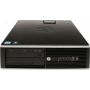 Calculator HP 8100 Elite SFF Intel Core I5-650 3.46 GHz 4GB DDR3 250GB HDD DVD Windows 10 Home Refurbished Preinstalat