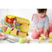 Suzhou Dashijie Electronics Co., Ltd Kids' Toy Food Set - Hot Dog, Hamburger, Fries & More!