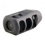 Precision Armament Ar .308 M11 Muzzle Brake 30 Caliber - M11 Muzzle Brake 30 Caliber 5/8-24 Ss Silv