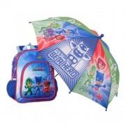 Eroi in Pijama ghiozdan scoala cu umbrela
