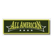 Squadron Products All American' Olive Hat Patch Clothing