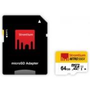 Strontium Nitro 64 GB MicroSDXC Class 10 Memory Card