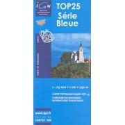 Wandelkaart - Topografische kaart 1212ET La Haye Du Puits Lessay | IGN