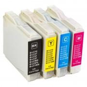 ZipZap LC-1000/LC-970 Pack 20 Cartuchos Multicolor Compatibles Brother