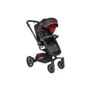 Carrinho De Bebê Travel System Kiddo Spin 360o - Xadrez Vermelho